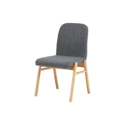 ダイニングチェア(ダークグレー/濃灰)〈NOC-11DGY〉椅子 アームレスチェア 北欧風 ナチュラル インテリア 家具 おしゃれ