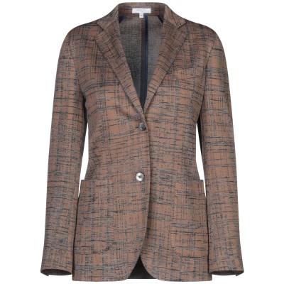 ボリオリ BOGLIOLI テーラードジャケット ブラウン 40 コットン 65% / ポリエステル 35% テーラードジャケット
