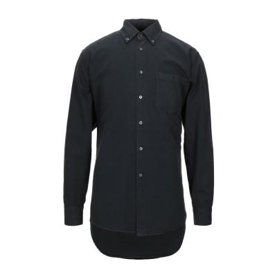 ラコステ LACOSTE シャツ ブラック 40 コットン 100% シャツ