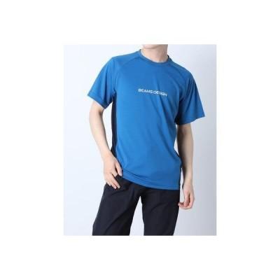 ティゴラ TIGORA メンズ 陸上/ランニング 半袖Tシャツ TR-9P1221TS (ブルー)
