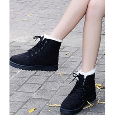STYLEBLOCK / 内ボアレースアップブーツ WOMEN シューズ > ブーツ
