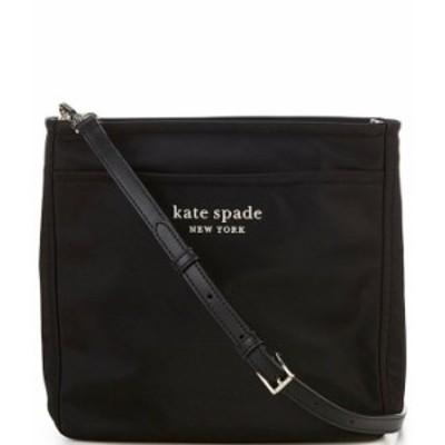 ケイトスペード レディース ショルダーバッグ バッグ Daily Nylon Medium Swing Pack Crossbody Bag Black