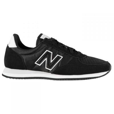 ニューバランス New Balance レディース スニーカー シューズ・靴 U220 Trainers Black/White