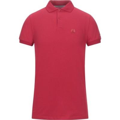 ピープルオブシブヤ PEOPLE OF SHIBUYA メンズ ポロシャツ トップス Polo Shirt Red