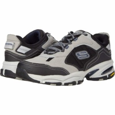 スケッチャーズ SKECHERS メンズ スニーカー シューズ・靴 Vigor 3.0 Gray/Black