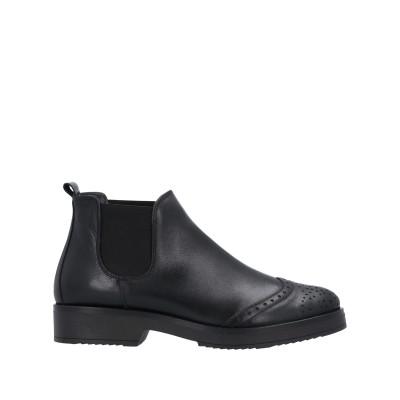 OROSCURO ショートブーツ ブラック 38 牛革(カーフ) ショートブーツ