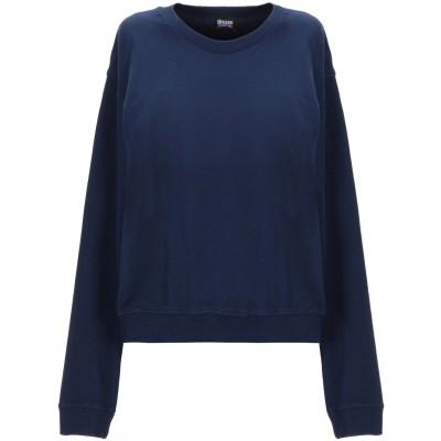 ブラウアー BLAUER スウェットシャツ ダークブルー S コットン 100% スウェットシャツ