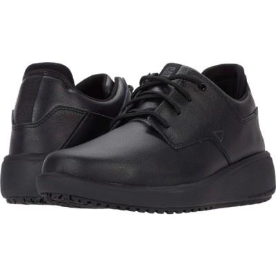 キャピタラー カジュアル Caterpillar レディース ローファー・オックスフォード シューズ・靴 ProRush SR+ Oxford Black Action Leather
