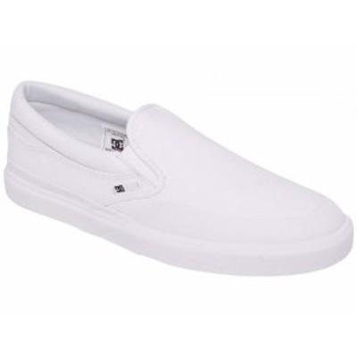 DC ディーシー メンズ 男性用 シューズ 靴 スニーカー 運動靴 Infinite Slip-On White/White/White【送料無料】