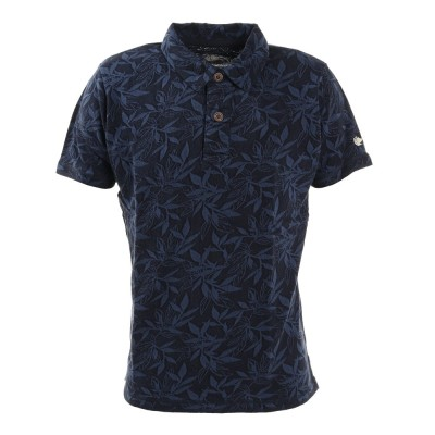 エルケクスウェアJQD 半袖ポロシャツ 881EK1HD6291 NVYネイビー