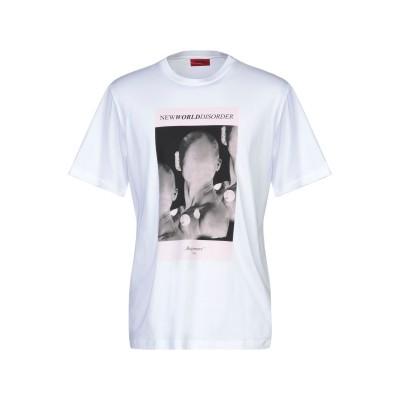 HUGO HUGO BOSS T シャツ ホワイト S コットン 100% T シャツ