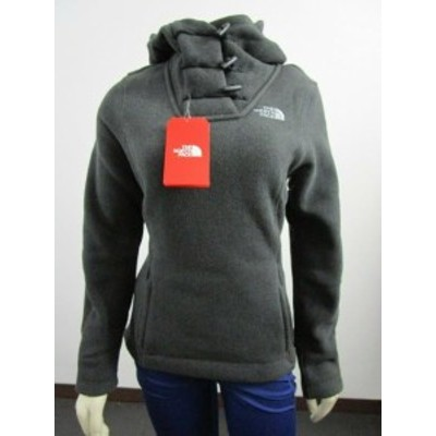 North Face ノースフェイス ファッション 衣類 Womens The North Face TNF Crescent Hoodie Hooded Pullover Fleece Jacket - Black