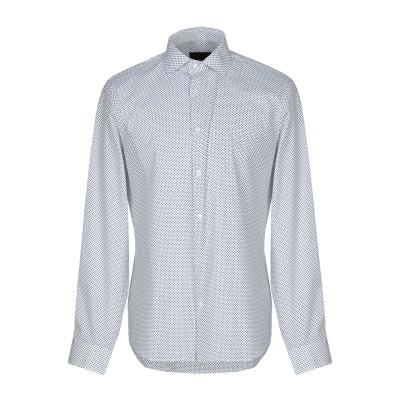MARCIANO シャツ ホワイト 42 コットン 97% / ポリウレタン 3% シャツ