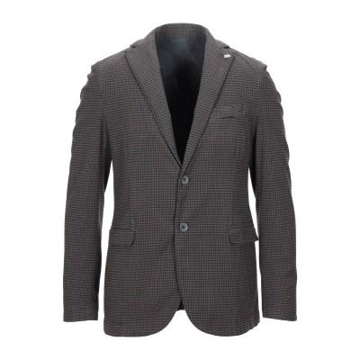 BARBATI テーラードジャケット 鉛色 48 コットン / ポリエステル / レーヨン / ポリウレタン テーラードジャケット