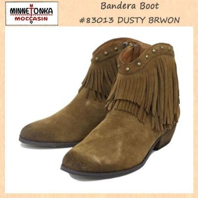 sale セール MINNETONKA(ミネトンカ) Bandera Boot(バンデラブーツ) #83013 DUSTY BROWN レディース MT238