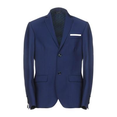 ダニエル アレッサンドリーニ DANIELE ALESSANDRINI テーラードジャケット ブルー 46 ポリエステル 70% / レーヨン 30