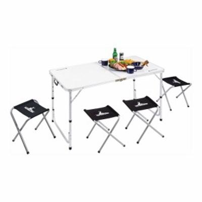 キャプテンスタッグ ラフォーレ テーブル チェアセット(4人用) | テーブル&チェアー UC-0004