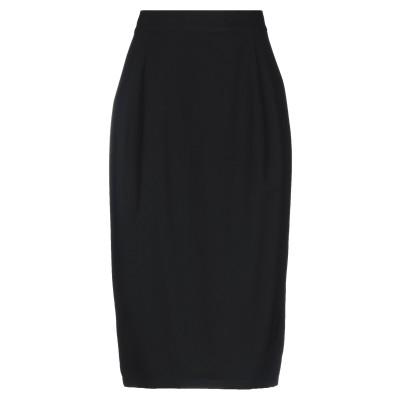 リミ フゥ LIMI FEU 7分丈スカート ブラック S ウール 100% 7分丈スカート