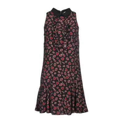 リュー ジョー LIU •JO ミニワンピース&ドレス ブラック 42 レーヨン 100% / ポリウレタン ミニワンピース&ドレス