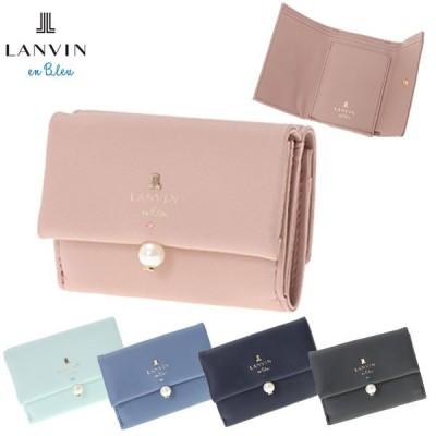 ランバンオンブルー LANVIN en Bleu 財布 3つ折り財布 シャペル 482014