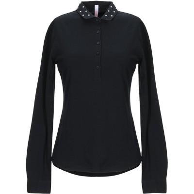 サンシックスティエイト SUN 68 ポロシャツ ブラック L コットン 95% / ポリウレタン 5% ポロシャツ