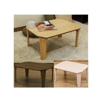木製テーブル60幅/ウッディーテーブル 折りたたみテーブル/木製折脚テーブル/ちゃぶ台 おしゃれ安い