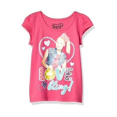 並行輸入品 Nickelodeon ガールズ JoJo Siwa 半袖グラフィックTシャツ US サイズ: 4T カラー: ピンク