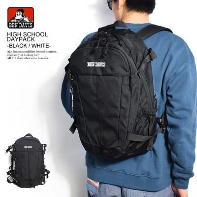 ベンデイビス デイパック BEN DAVIS HIGH SCHOOL DAYPACK -BLACK/WHITE-