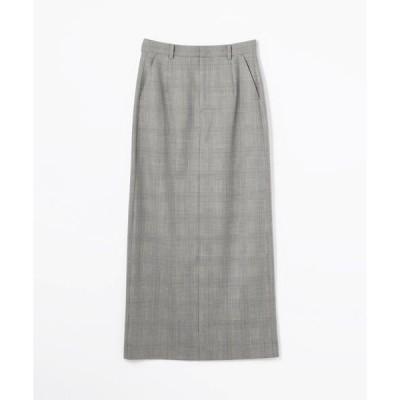 TOMORROWLAND / トゥモローランド ウールストレッチ Iラインロングスカート
