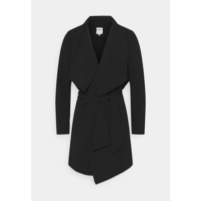 レディース ファッション ONLRUNA SPRING COAT - Short coat - black