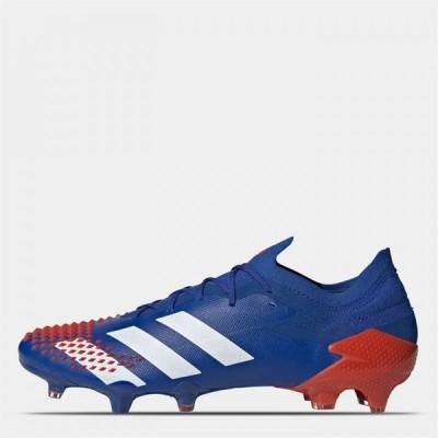 アディダス adidas レディース サッカー ブーツ シューズ・靴 Predator Mutator 20.1 Football Boots Firm Ground Royal/White/Red