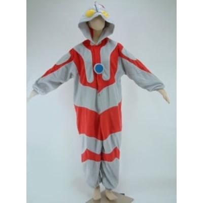 送料無料 ハロウィン 衣装 着ぐるみ 大人用 フリース 仮装 コスプレ コスチューム ウルトラマン ハロウィン 衣装 コスプレ