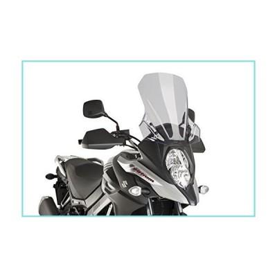 Puig ツーリング スクリーン Suzuki V-Strom 650 17-18フィート C/スモーク 9719H【並行輸入品】