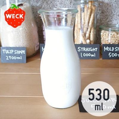WECK ジュースジャー 530mL ウェック WE-764
