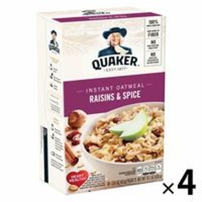 Quaker OatsQUAKER(クエーカー) オートミール レーズン&スパイス 430g 1セット(4個) シリアル