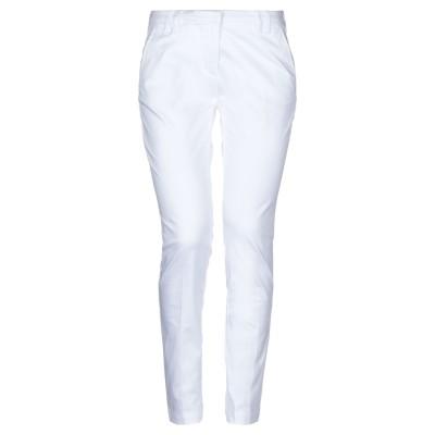 イレブンティ ELEVENTY パンツ ホワイト 27 コットン 97% / ポリウレタン 3% パンツ