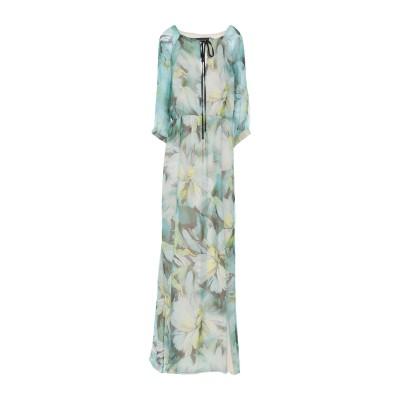 パトリティア ペペ セーラ PATRIZIA PEPE SERA ロングワンピース&ドレス グリーン 42 シルク 100% ロングワンピース&ドレス