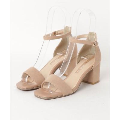 Parade ワシントン靴店 / スエードヒールサンダル5048 WOMEN シューズ > サンダル