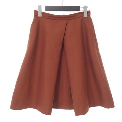 ザ シンゾーン//THE SHINZONE フレア スカート 20G20 サイズ レディース36 レンガブラウン系 ランクA 106  (中古)
