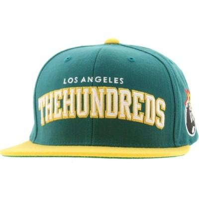 ザハンドレッズ The Hundreds メンズ キャップ スナップバック 帽子 Player Snapback Cap turquoise