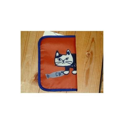 マチルダさん マスクポーチ マスクケース マスク マスク収納 ネコ雑貨 猫雑貨 ねこ雑貨 ねこ 猫 ネコ くすぐるマスクポーチ (マチルダさん柄 オレンジ)