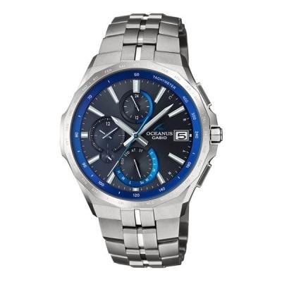 【ポイント10倍】(国内正規品)(カシオ)CASIO 腕時計 OCW-S5000-1AJF (オシアナス)OCEANUS メンズ 最薄マンタ Bluetooth搭載 チタンバンド 電波ソーラー