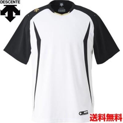 デサント(DESCENTE) 男女兼用 野球・ソフトボール用ウェア ベースボールシャツ DB-120-SWBK