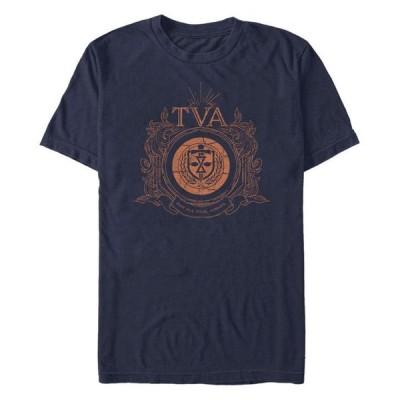 フィフスサン メンズ Tシャツ トップス Men's Time Variance Authority Badge Short Sleeve Crew T-shirt