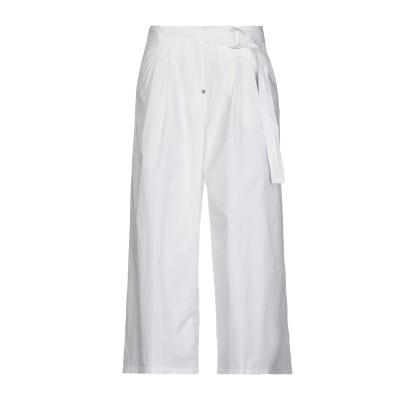 WHITE SAND 88 パンツ ホワイト 40 コットン 100% パンツ