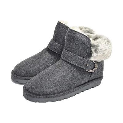 [BEARPAW] ベアパウ KOKO レディース ウインター ブーツ ブーティ ボア ウール (GrayWool 24.0 cm)