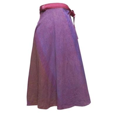 スカート アジアン衣料 ネパール・ラップスカート39 クリックポスト選択 送料200円