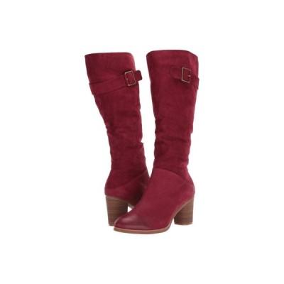 ソフトウォーク SoftWalk レディース ブーツ シューズ・靴 Knox Dark Red