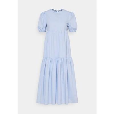 ミスガイデッド レディース ファッション MIDAXI SMOCK DRESS - Day dress - baby blue