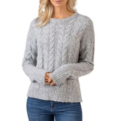 ベルディーニ レディース ニット・セーター アウター Crewneck Cable Knit Sweater